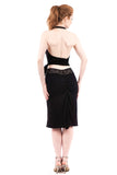 mars ruched bamboo skirt