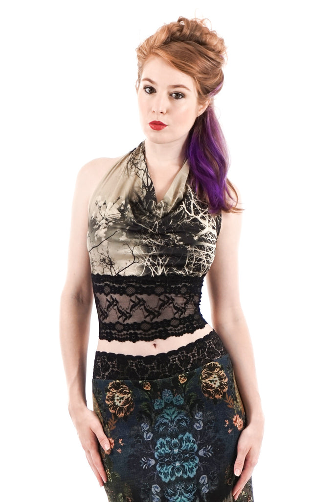 fractal forest wrap top