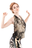 fractal forest draped top