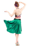 the signature skirt in true emerald