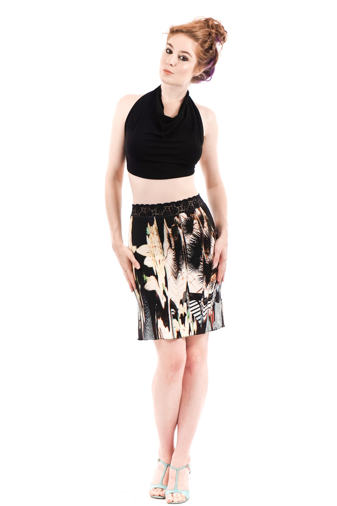 milan short skirt