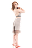 silver heather skirt