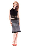 black mica skirt