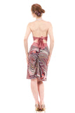 spriograph ruched skirt