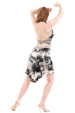 silent film fluted skirt