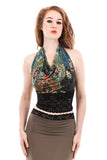 underwater tapestry wrap top