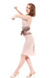 bamboo ballet ruched skirt