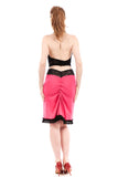 pink cabaret ruched skirt