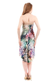 spectrum fluted tango dress