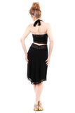 onyx edge fluted skirt