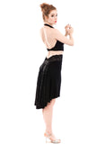 the signature skirt in black diamond