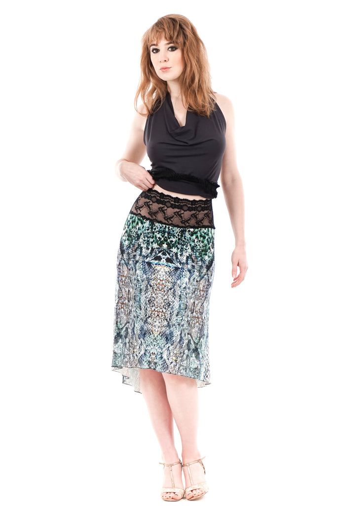 watersketch fluted skirt