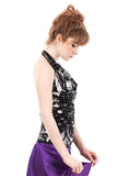 night moth fitted halter