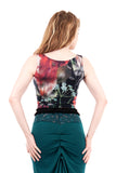 wildfield ruffled tank