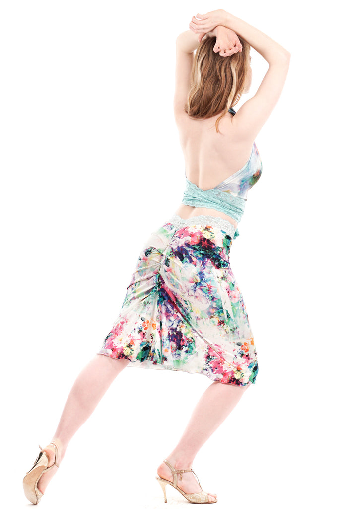 sunspot ruched skirt