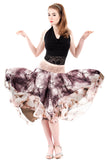 tree and blossom circle skirt