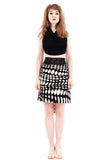titanium dot short skirt