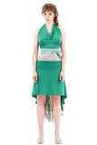 the signature skirt in loquat tree & jade