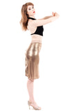 glitz ruched skirt