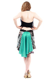 the signature skirt in inkwater and jade