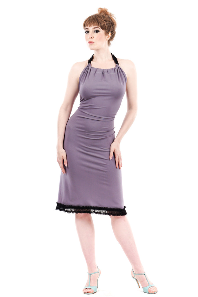 lavender fog dress