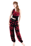 bouquet cascade draped tango trousers