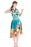 luminous jardin skirt