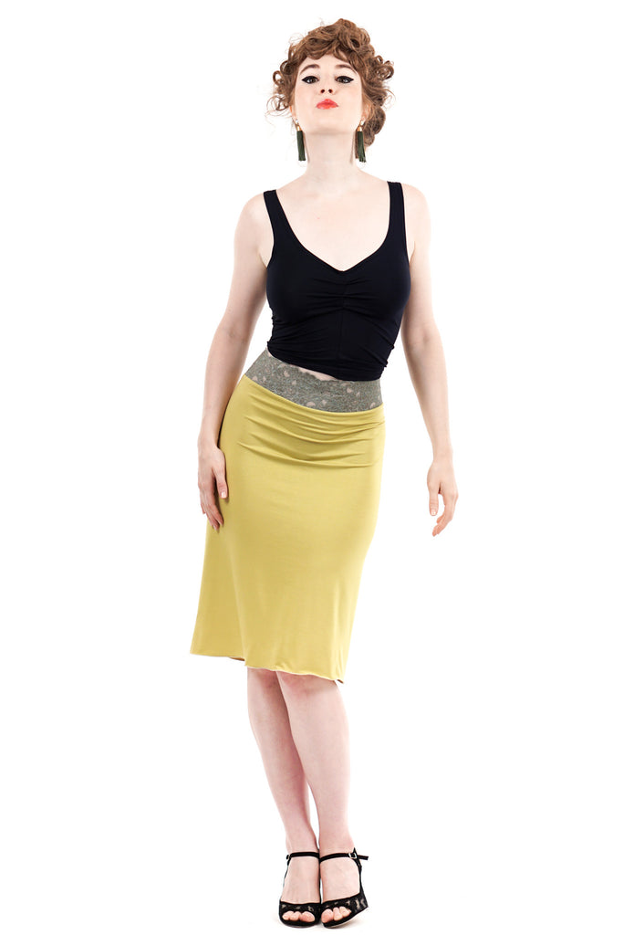 pierdot ruched skirt