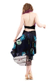 the signature skirt in midnight garden