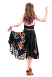 embroidery circle skirt