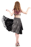 lace & vectors skirt