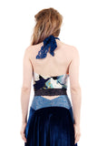 painter's floral halter