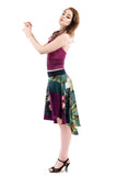 flight colors circle skirt