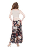 apres tango night palms maxi skirt - Poema Tango Clothes: handmade luxury clothing for Argentine tango