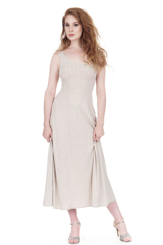 après tango seashell rib knit maxi dress