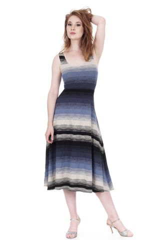 après tango twilight ombre midi dress