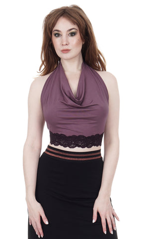 ashes of violets wrap top