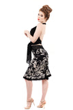 bloom silhouette ruched skirt - Poema Tango Clothes: handmade luxury clothing for Argentine tango