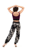 bloom silhouette tango trousers - Poema Tango Clothes: handmade luxury clothing for Argentine tango