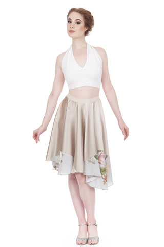 botanist silk skirt