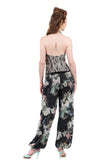 brushed blooms tango trousers - Poema Tango Clothes: handmade luxury clothing for Argentine tango