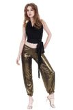 burnt gold tango trousers - Poema Tango Clothes: handmade luxury clothing for Argentine tango