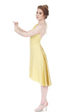 buttercup gold dress - Poema Tango Clothes: handmade luxury clothing for Argentine tango