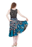 butterfly wing circle skirt - Poema Tango Clothes: handmade luxury clothing for Argentine tango
