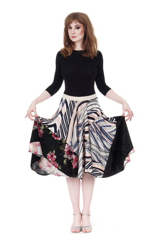 candyland circle skirt