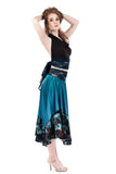 ciel sequins circle skirt - Poema Tango Clothes: handmade luxury clothing for Argentine tango