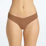 classic thong by commando - dark beige