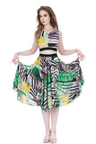 color geometry circle skirt - Poema Tango Clothes: handmade luxury clothing for Argentine tango