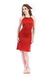 crimson dress - Poema Tango Clothes: handmade luxury clothing for Argentine tango