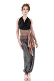 cygnet sequin tango trousers - Poema Tango Clothes: handmade luxury clothing for Argentine tango